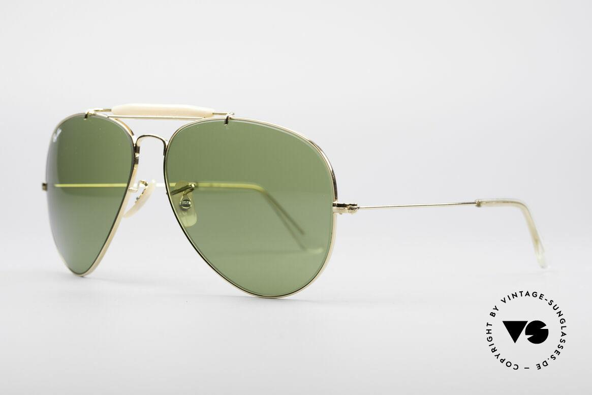 Ray Ban Outdoorsman II B&L USA Shades 80's Vintage, made in the 70's and 80's by Bausch&Lomb, U.S.A., Made for Men