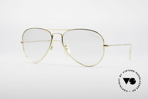 Ray Ban Aviator B&L Optical Frame Details