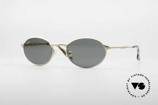 Ray Ban Highstreet Metal Oval Shades Details