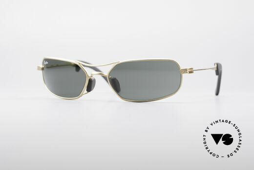 Ray Ban Orbs Rectangle B&L USA Details