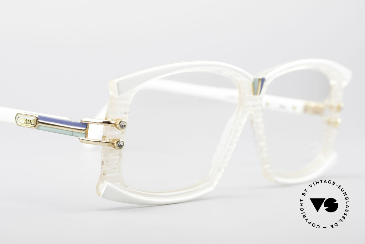 Cazal 195 80's Hip Hop Glasses, original 80's frame (part of the US HipHop scene, then), Made for Women