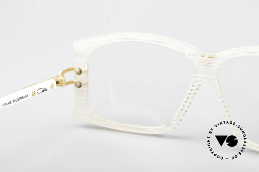 Cazal 195 80's Hip Hop Glasses, new old stock (like all out vintage eyeglasses by Cazal), Made for Women