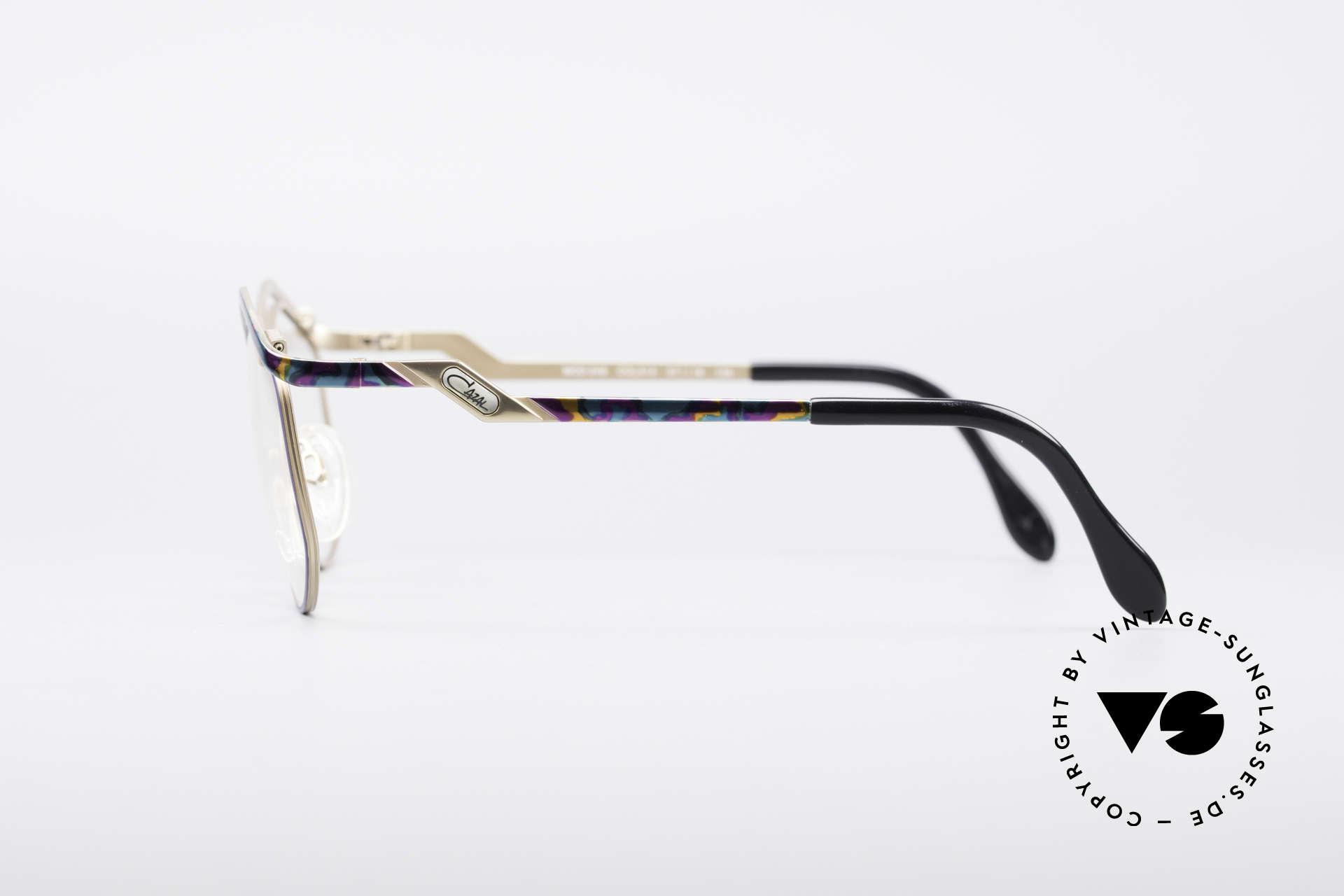 Cazal 249 Pop Art 90's Titanium, NO retro glasses, but an original old designer piece!, Made for Women