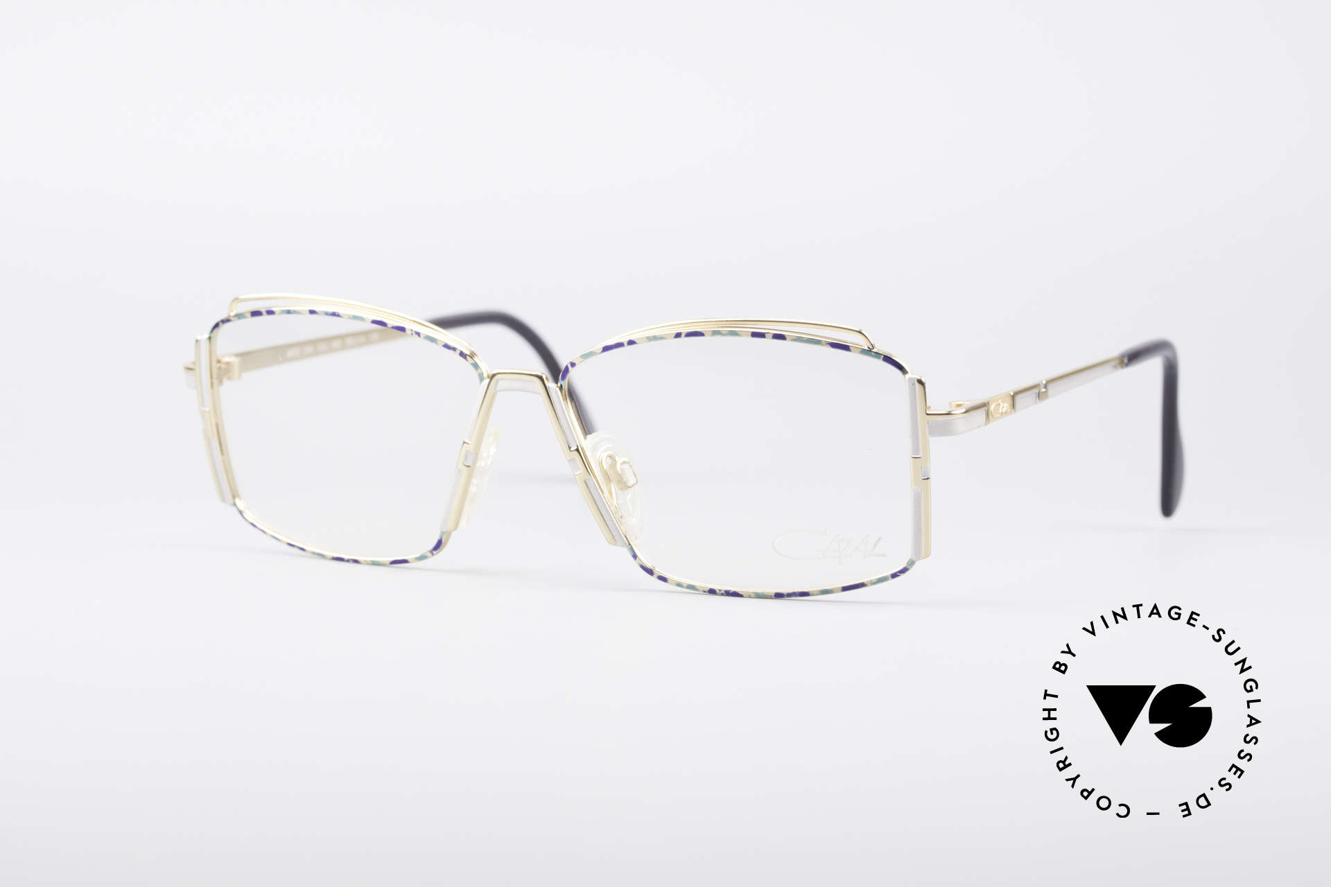 Cazal 264 No Retro True Vintage Frame, glamorous ladies' eyeglasses by CaZal (Cari Zalloni), Made for Women
