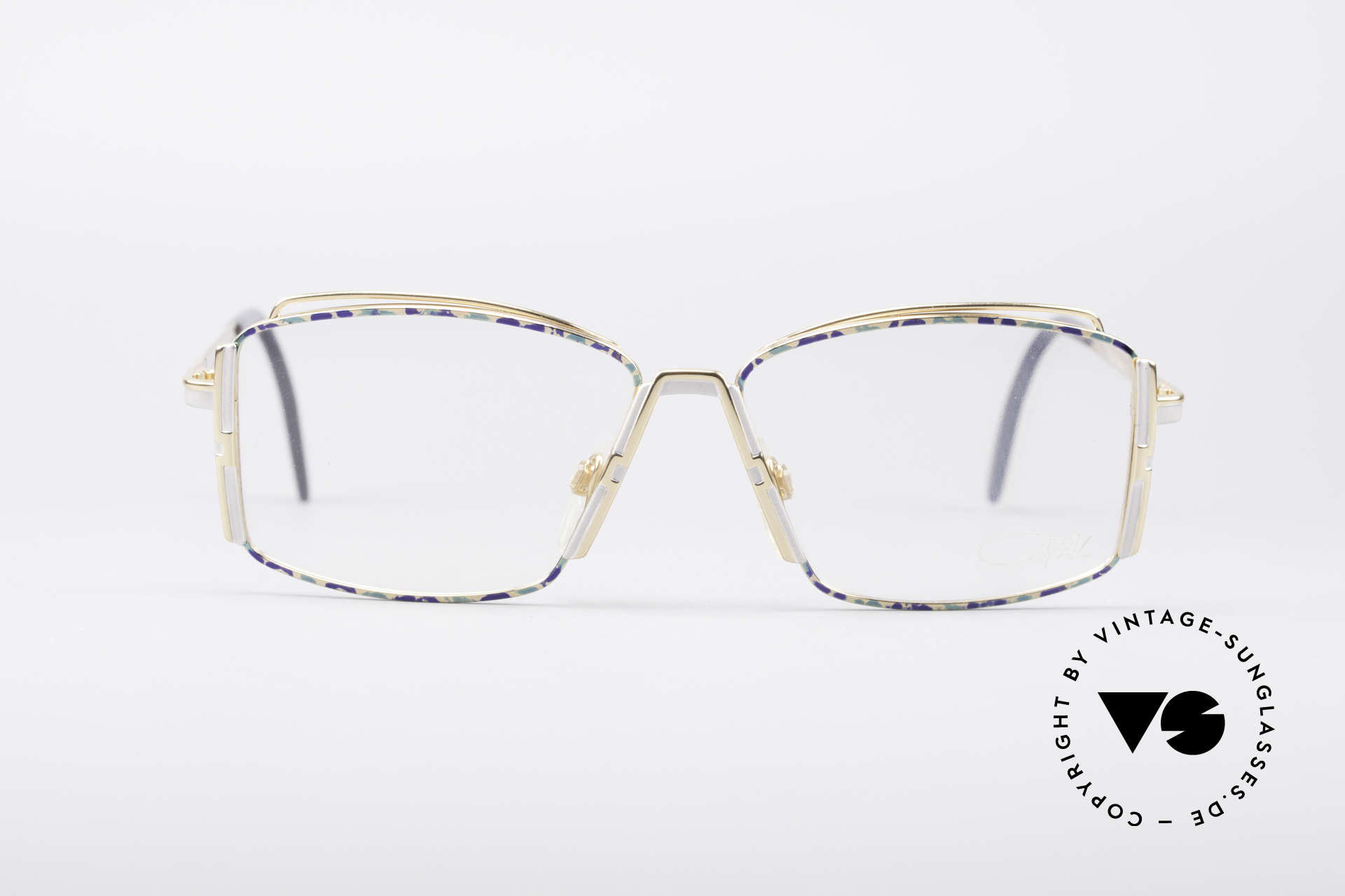 Cazal 264 No Retro True Vintage Frame, fashionable designer piece, full of verve; true vintage!, Made for Women