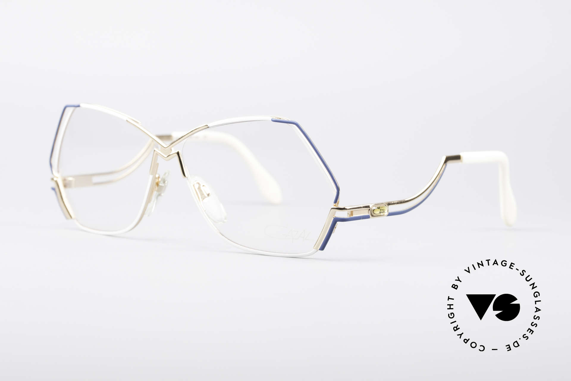 Cazal 226 West Germany Vintage Glasses, a true eye-catcher; just beautiful and simply unique, Made for Women