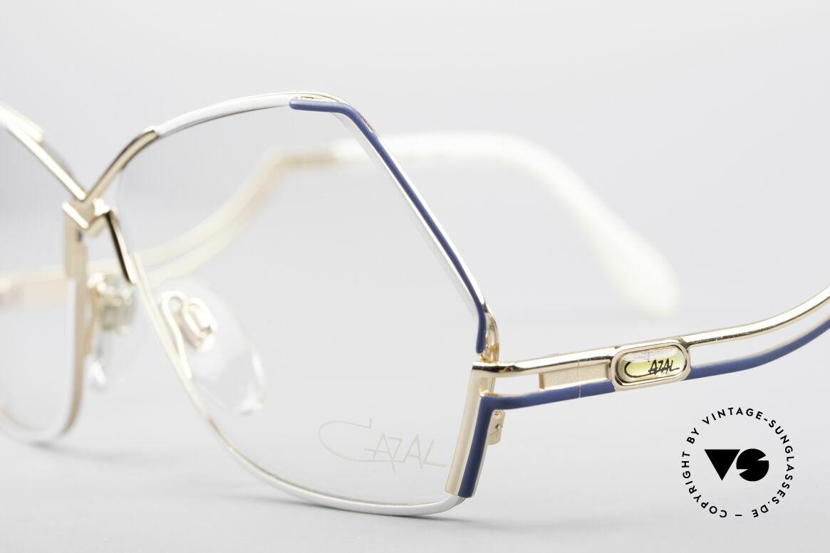 Cazal 226 West Germany Vintage Glasses, 80's frame (W.Germany), 90's frame (made in Germany), Made for Women