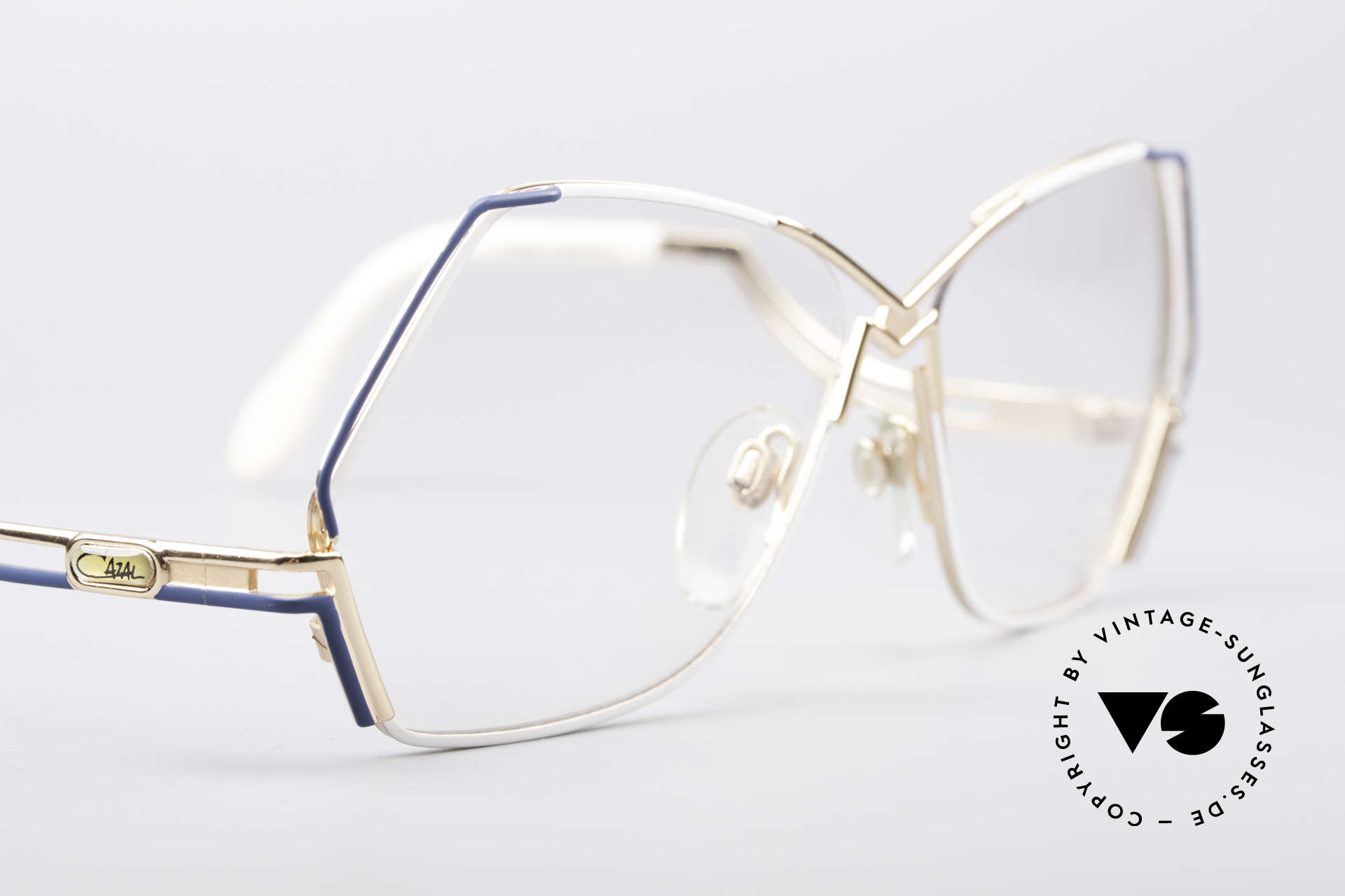 Cazal 226 West Germany Vintage Glasses, new old stock, NOS (like all our rare old Cazal eyewear), Made for Women