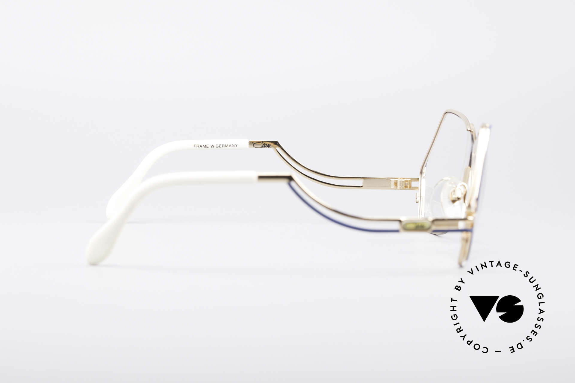 Cazal 226 West Germany Vintage Glasses, demo lenses can be replaced with optical (sun) lenses, Made for Women