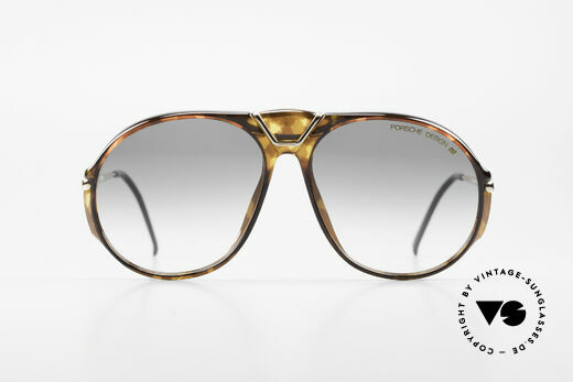 Porsche 5659 Interchangeable Shades M, NO RETRO sunglasses, but a genuine old original, Made for Men and Women