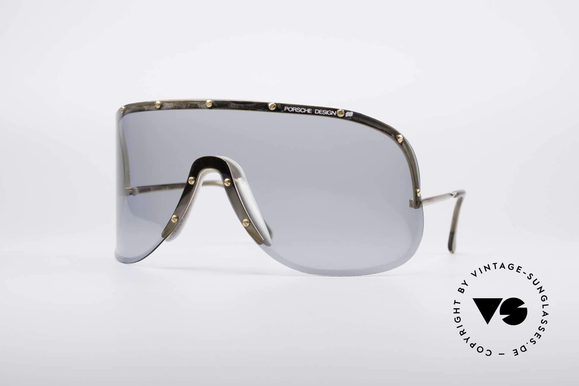 Porsche 5620 Original Yoko Ono Shades Gold, mod. 5620: vintage Porsche sunglasses by Carrera Design, Made for Men and Women