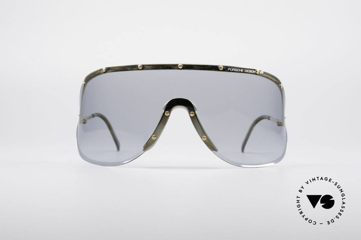 Porsche 5620 Original Yoko Ono Shades, huge shades, made for a flashy appearance (eye-catcher), Made for Men and Women