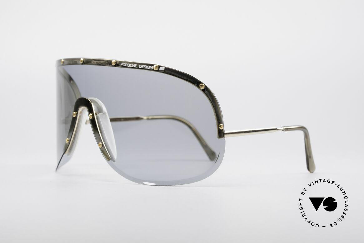"Porsche 5620 Original Yoko Ono Shades Gold, worn by Yoko Ono (""Rolling Stone"" magazine cover, 1981), Made for Men and Women"