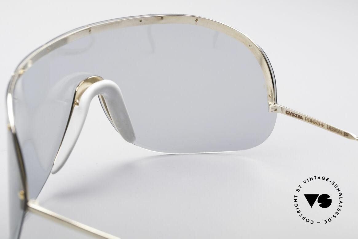 Porsche 5620 Original Yoko Ono Shades Gold, originally produced as 'sports glasses' (polarized shades), Made for Men and Women