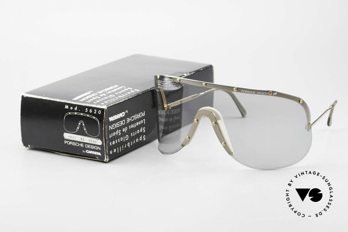 Porsche 5620 Original Yoko Ono Shades Gold, original unworn 1980's rarity (comes with orig. packing), Made for Men and Women