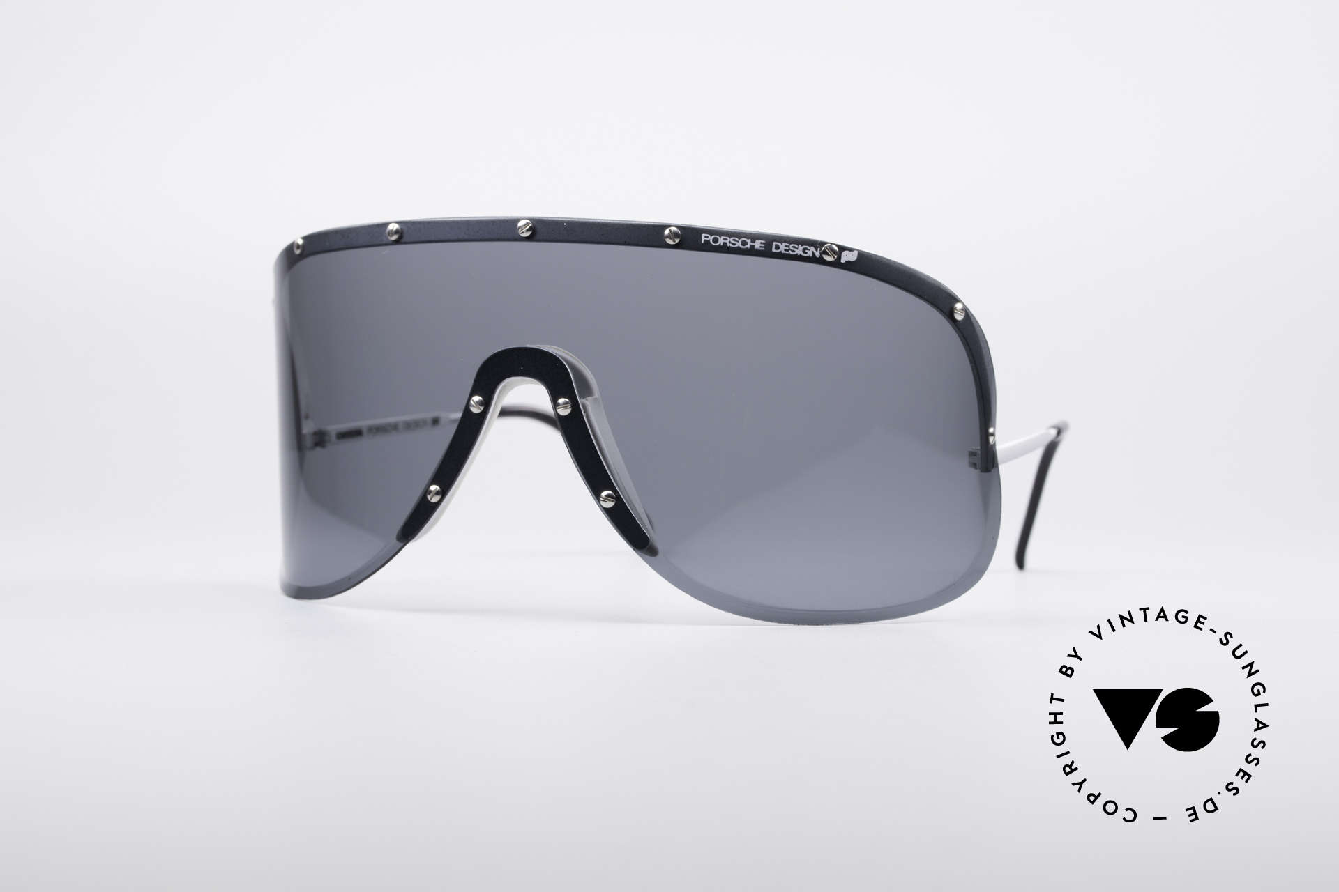 Porsche 5620 Old Yoko Ono Shades Silver, mod. 5620: vintage Porsche sunglasses by Carrera Design, Made for Men and Women