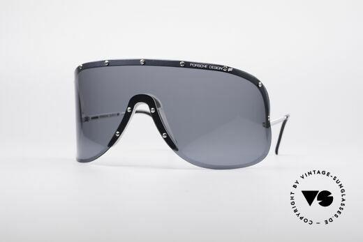 Porsche 5620 Old Yoko Ono Shades Silver Details