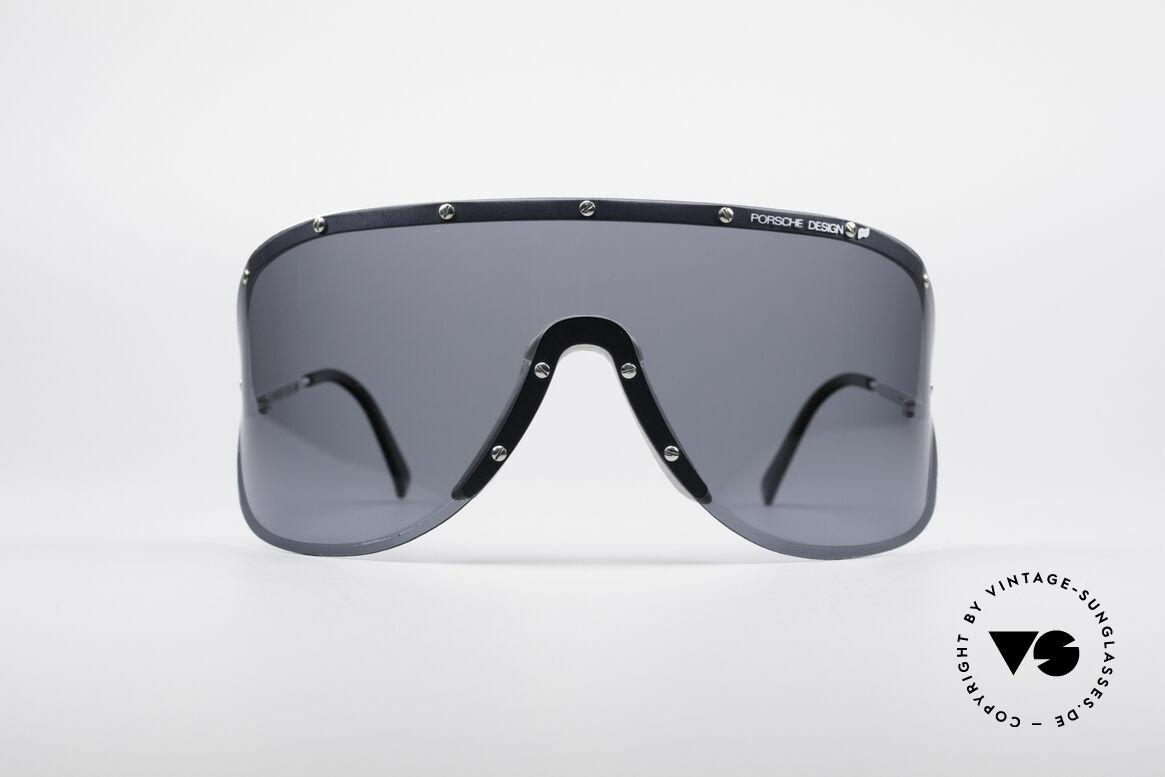 Porsche 5620 Original Yoko Ono Shades, huge shades, made for a flashy appearance (eye-catcher), Made for Men and Women