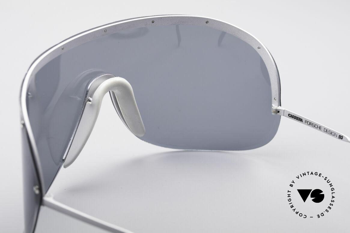 Porsche 5620 Old Yoko Ono Shades Silver, originally produced as 'sports glasses' (polarized shades), Made for Men and Women