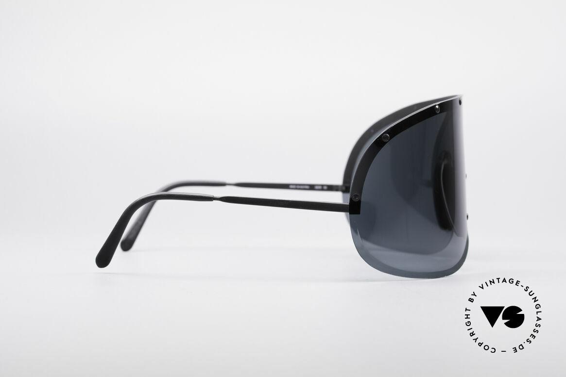 Porsche 5620 80's Yoko Ono Shades Black, thus, worldwide well-known as original 'Yoko Ono shades', Made for Men and Women