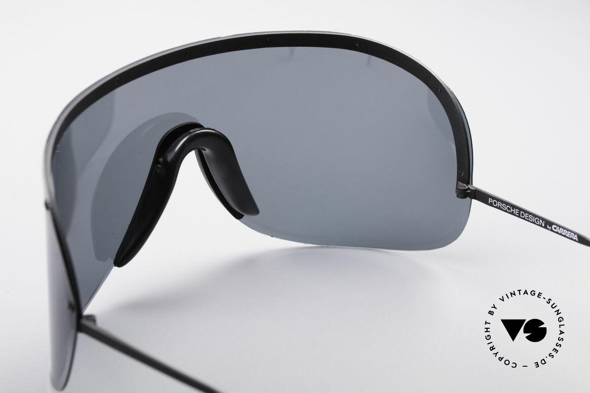 Porsche 5620 80's Yoko Ono Shades Black, originally produced as 'sports glasses' (polarized shades), Made for Men and Women