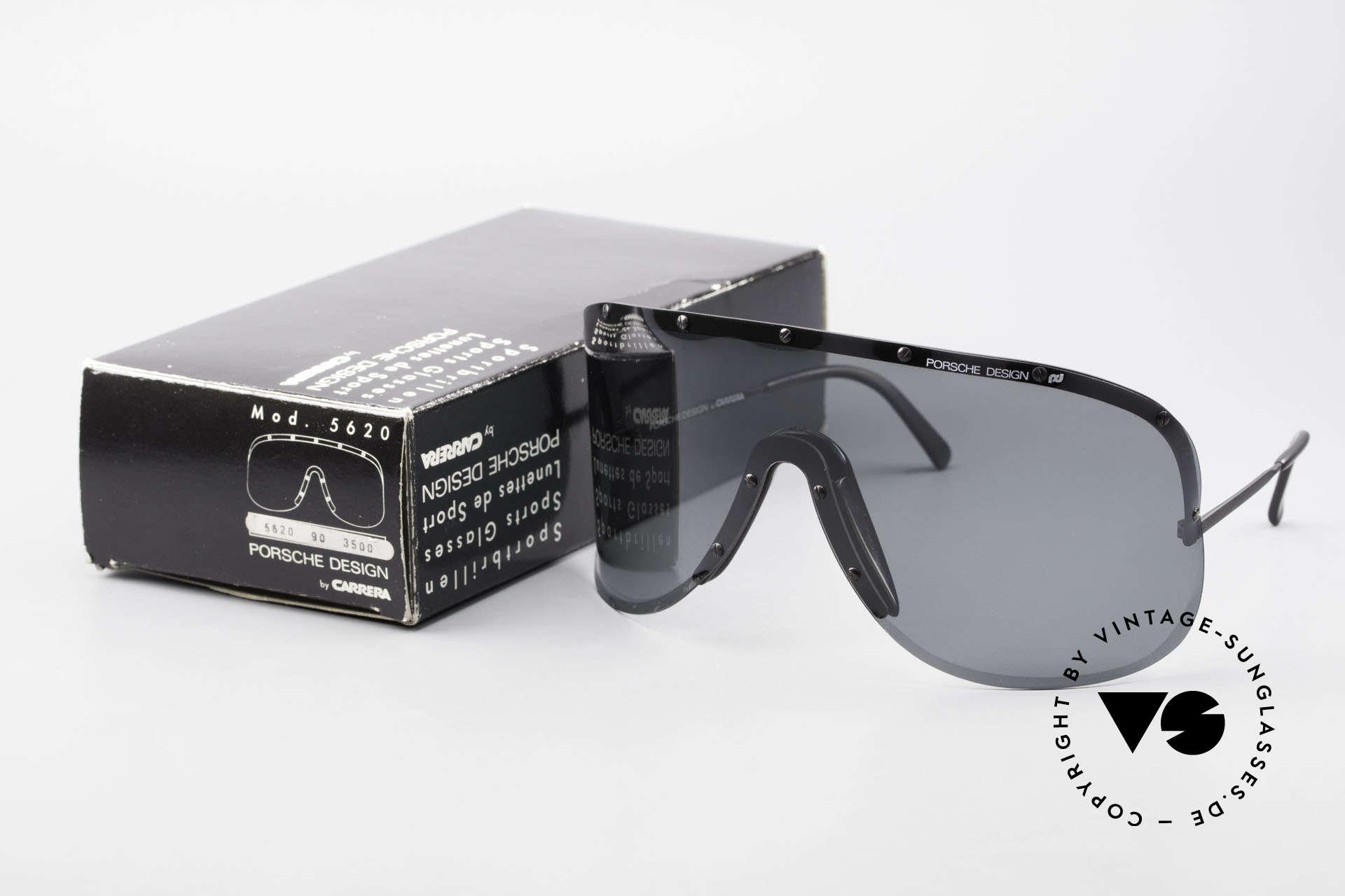 Porsche 5620 80's Yoko Ono Shades Black, original unworn 1980's rarity (comes with orig. packing), Made for Men and Women