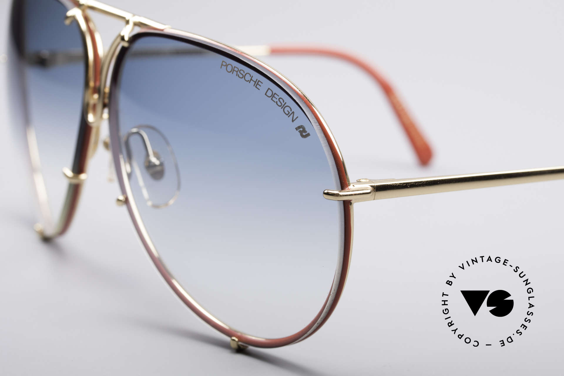 Porsche 5623 Limited Special Edition, 125mm short temples = ladies size (fits small heads), Made for Women