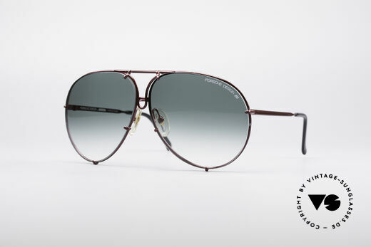 Porsche 5623 80's Aviator Sunglasses Details
