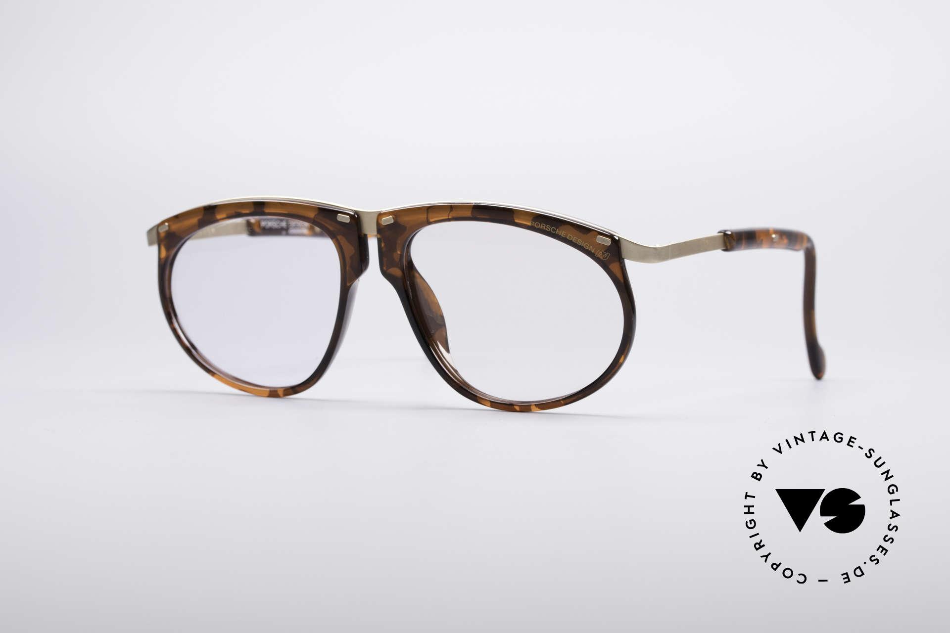 Porsche 5660 Adjustable Vintage Frame, exceptional unique PORSCHE DESIGN eyeglasses, Made for Men