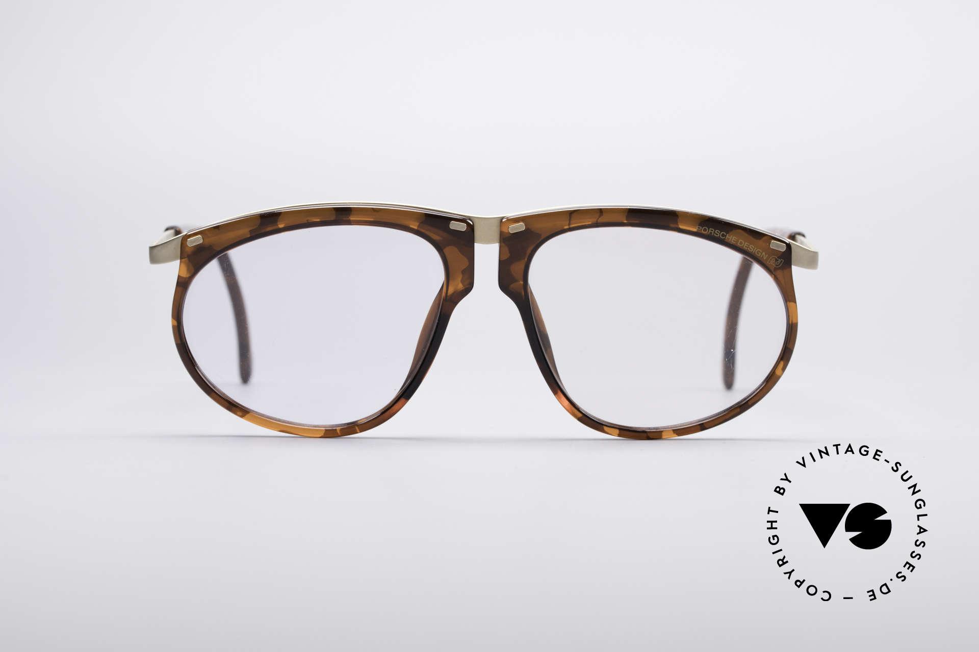 Porsche 5660 Adjustable Vintage Frame, customizable thanks to adjustable temple lenghts, Made for Men