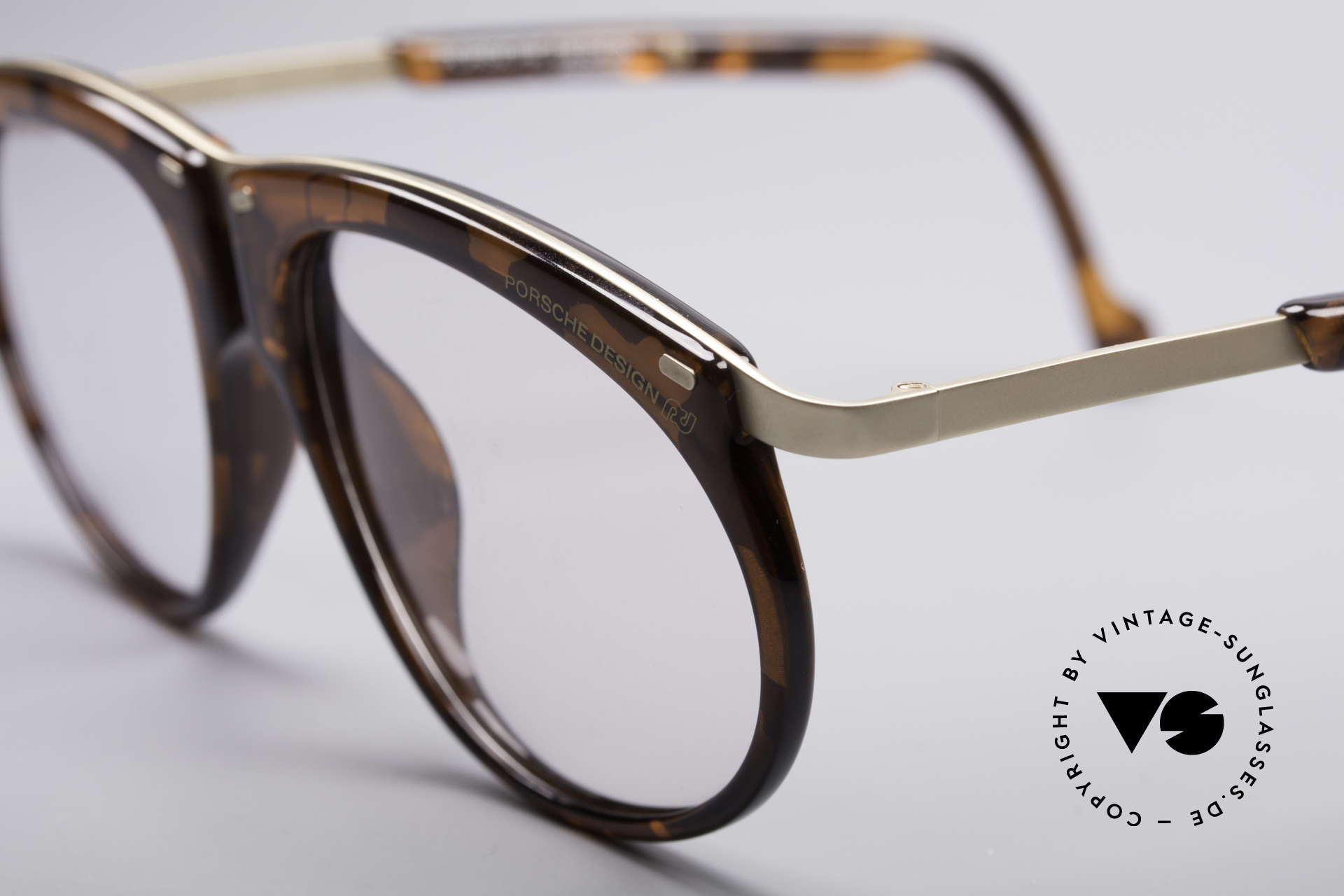 Porsche 5660 Adjustable Vintage Frame, great combination of materials, colors and shapes, Made for Men