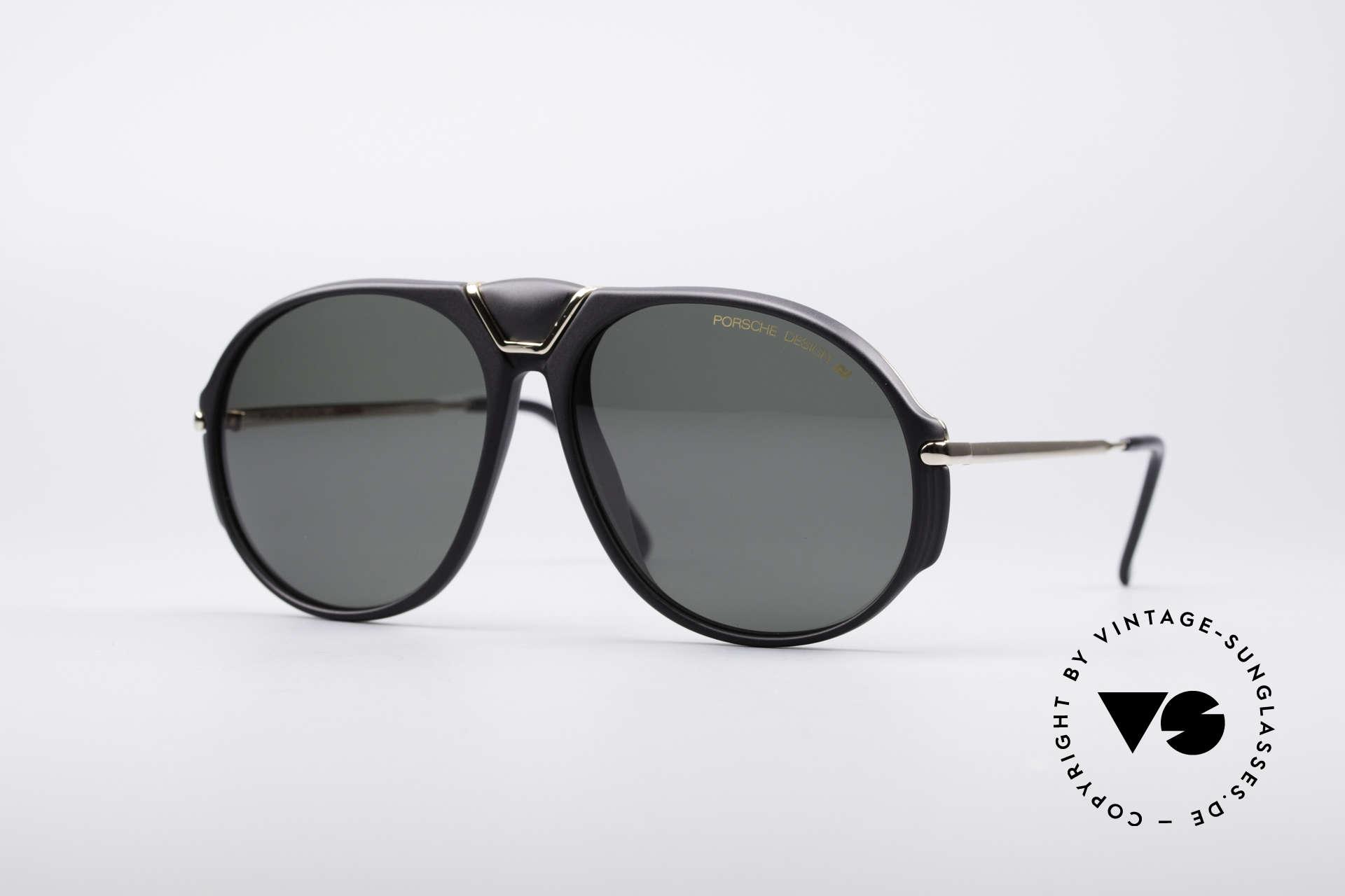 Porsche 5659 Interchangeable Shades S, rare vintage Porsche Carrera Design sunglasses, Made for Men and Women