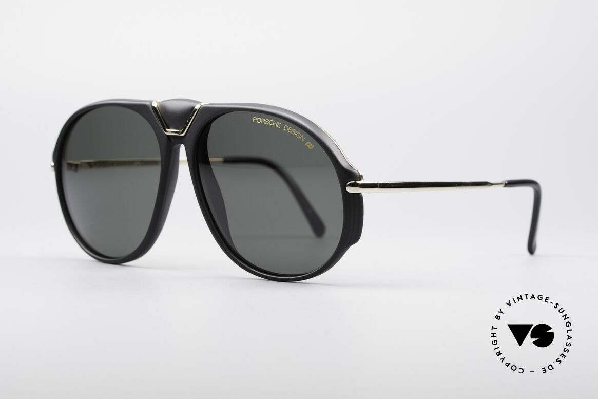 Porsche 5659 Interchangeable Shades S, with 2 spare lenses and orig. Porsche hard case, Made for Men and Women
