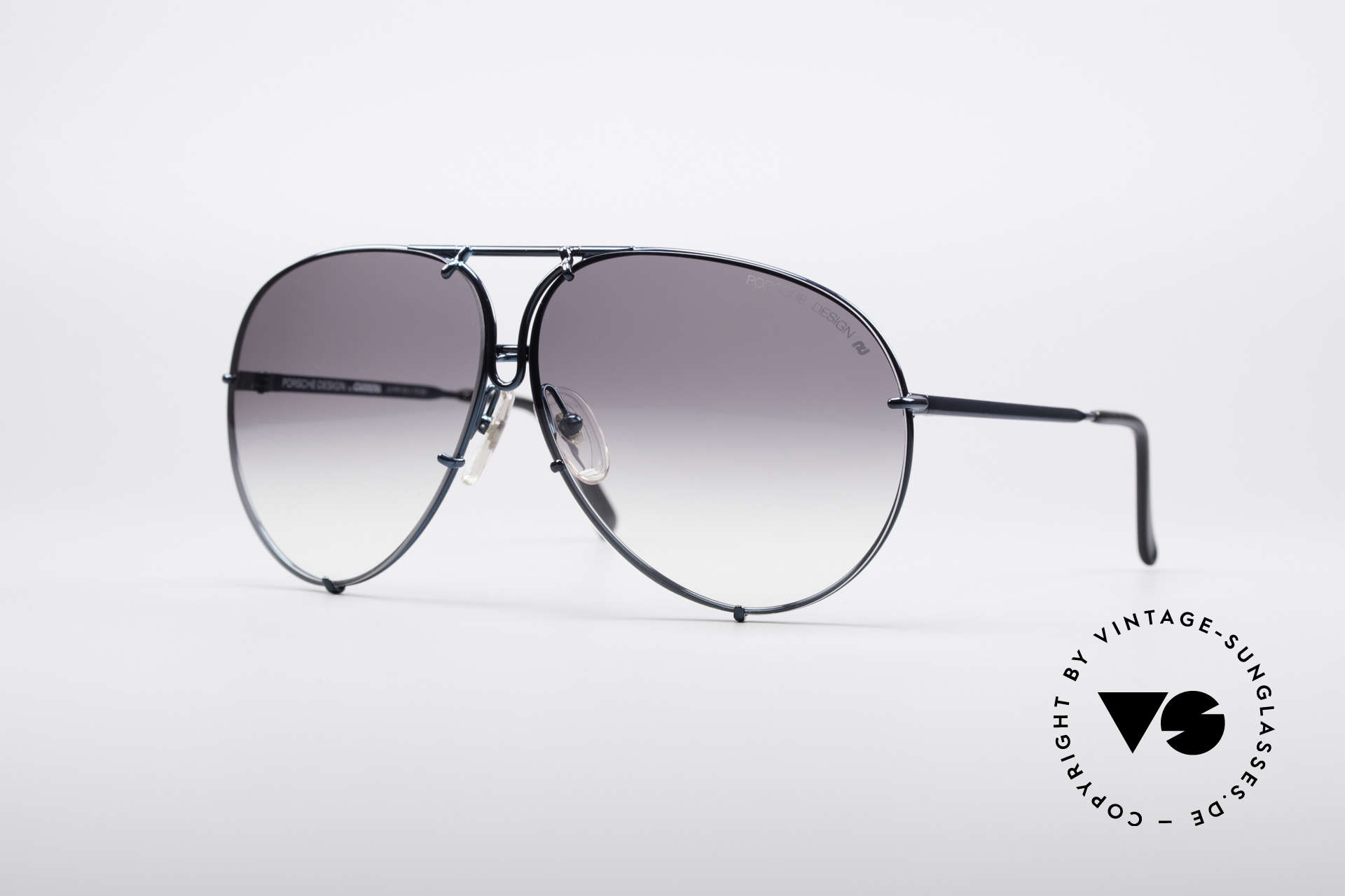 Porsche 5623 80's Aviator Sunglasses, vintage Porsche Design by Carrera shades from 1987, Made for Men and Women