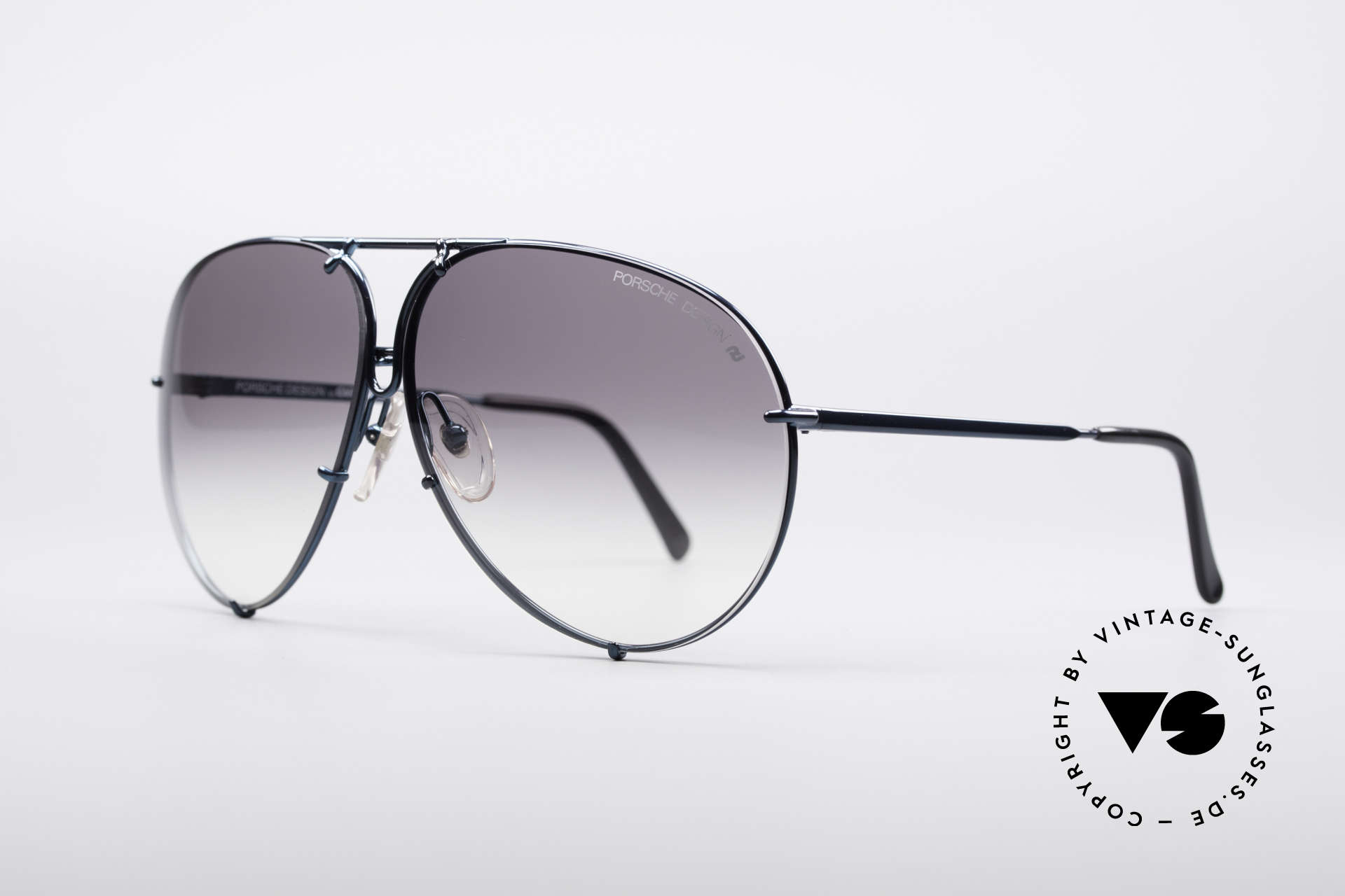 Porsche 5623 80's Aviator Sunglasses, the legend with interchangeable lenses - true vintage, Made for Men and Women