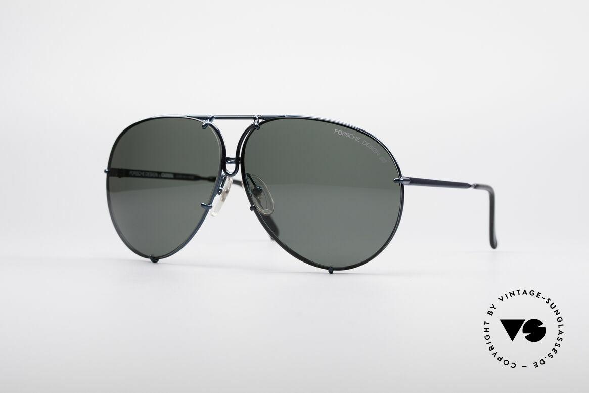Porsche 5623 80's Aviator Sunglasses, unworn NOS incl. original packaging (collector's item), Made for Men and Women
