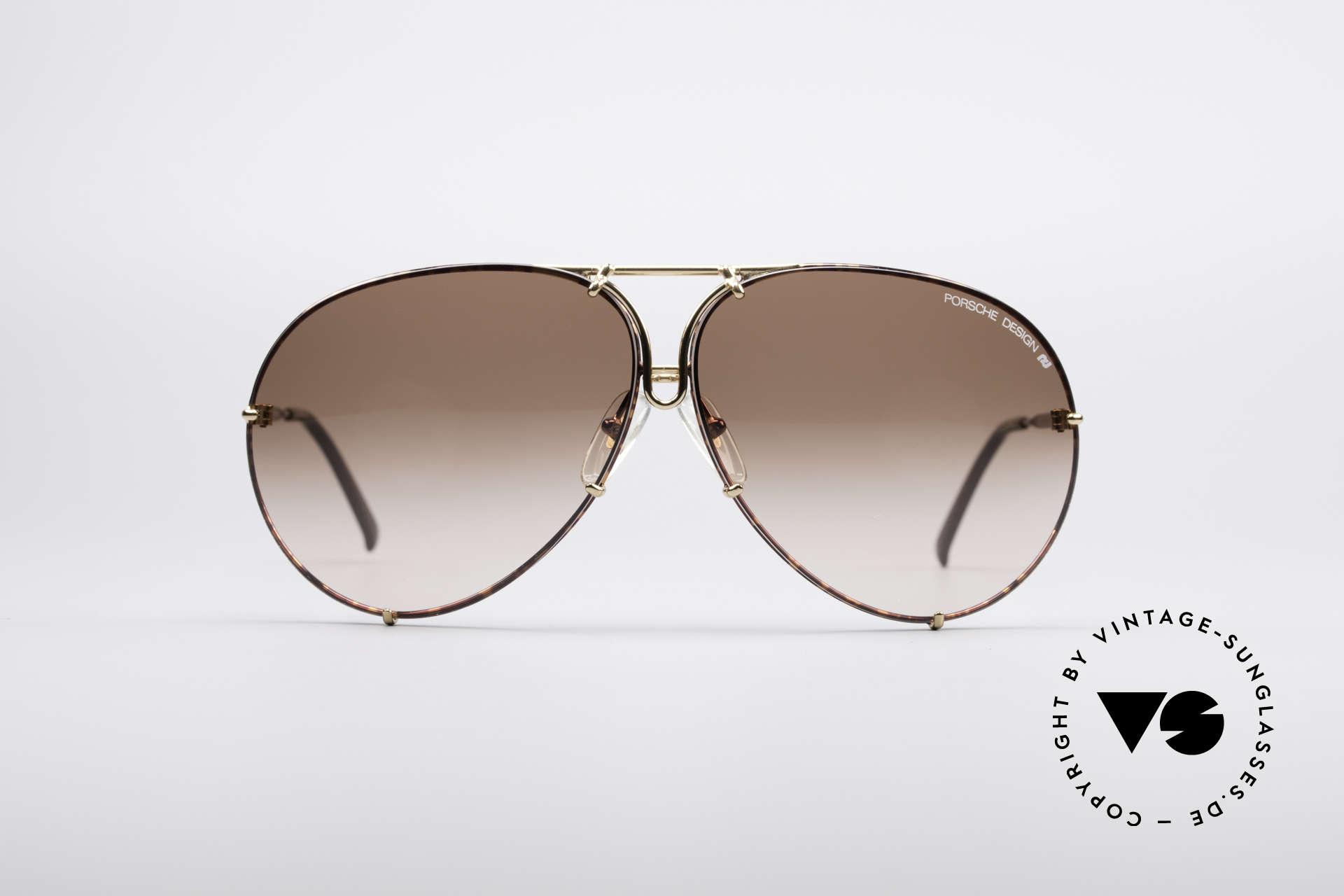 Sunglasses Porsche 5621 Large 80 s Aviator Shades   Vintage Sunglasses f1fe482dc6ad