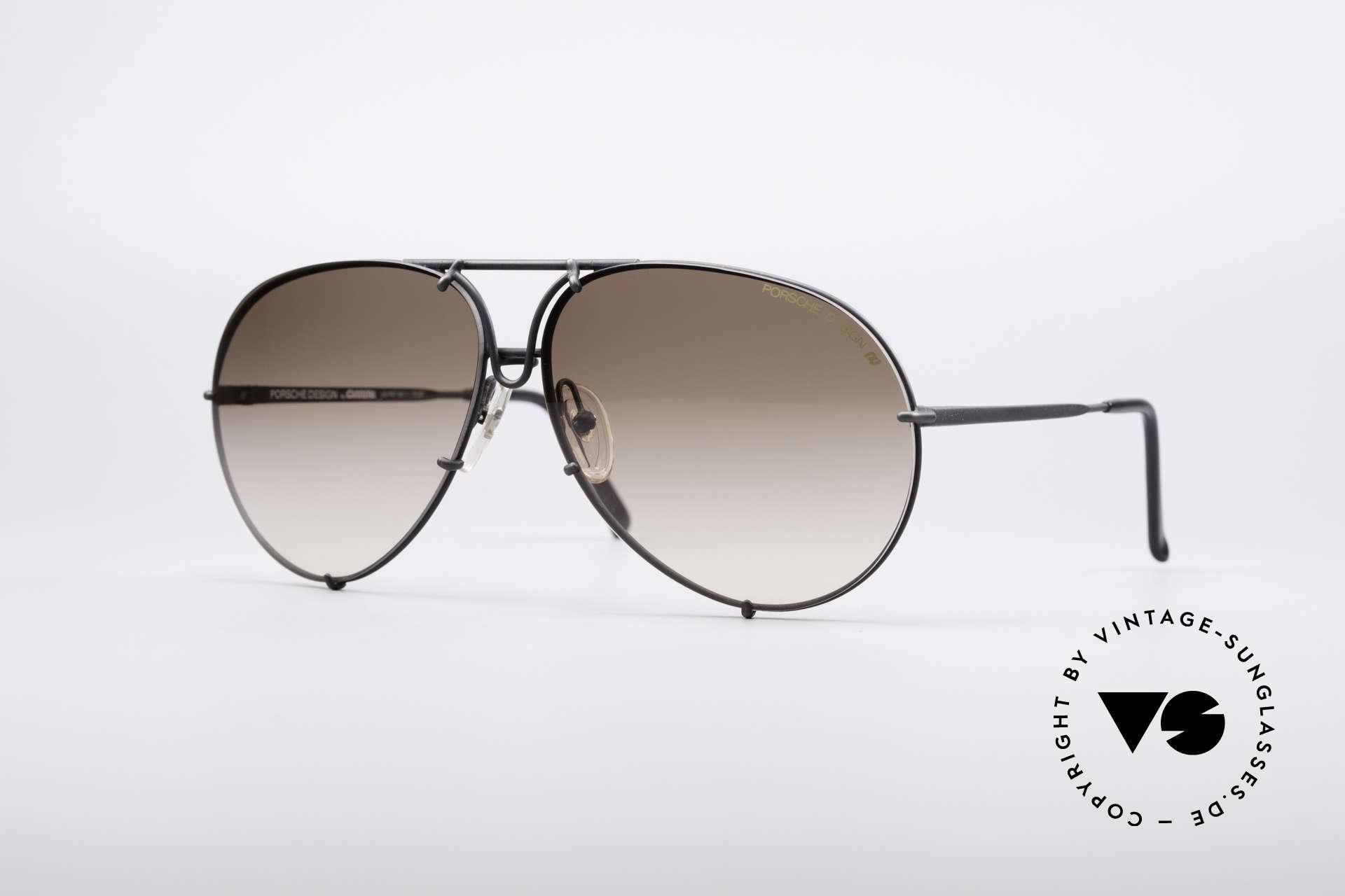 Porsche 5621A Rare 90's Aviator Shades, 90's vintage PORSCHE Design by Carrera sunglasses, Made for Men