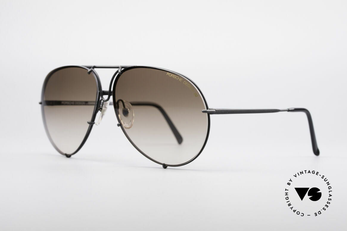 Porsche 5621A Rare 90's Aviator Shades, model 5621 = 80's LARGE size (X-LARGE, these days), Made for Men