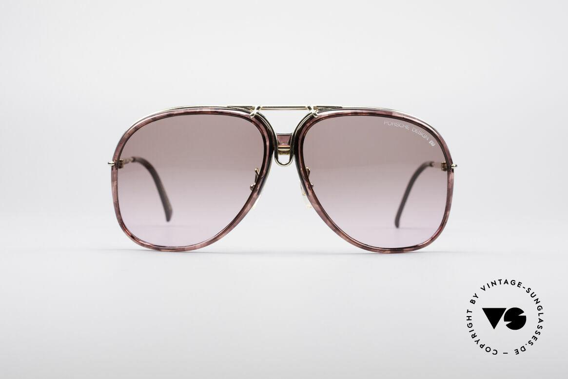 Porsche 3 in 1 Small 5631 + 5632 + 5633, applicatory 3 in 1 vintage PORSCHE sunglasses, Made for Women
