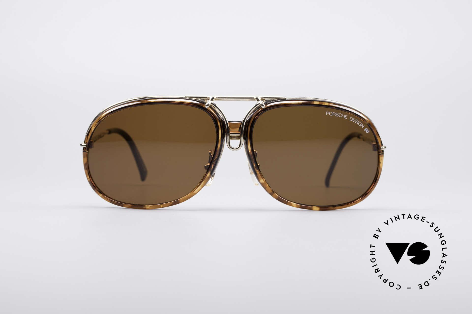 Porsche 3 in 1 Small 5631 + 5632 + 5633, thus, three sunglasses in one! (brilliant and rare), Made for Women