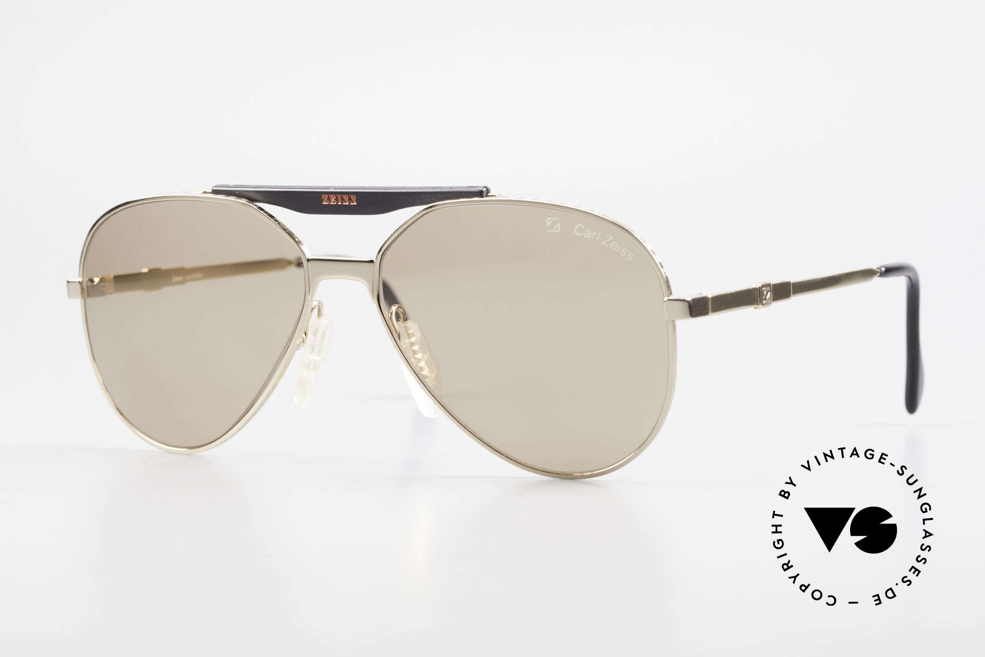 Zeiss 9931 Premium Vintage Sunglasses, old vintage 'premium sunglasses' by ZEISS, Germany, Made for Men
