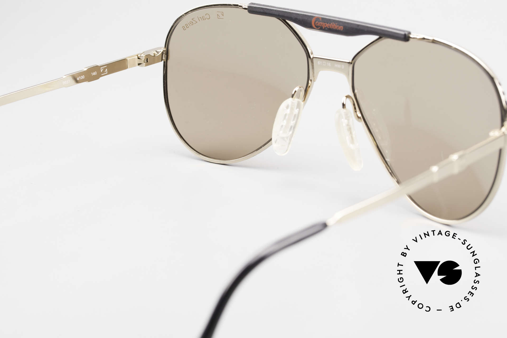 Zeiss 9931 Premium Vintage Sunglasses, NO RETRO shades, but an app. 25 years old Original, Made for Men