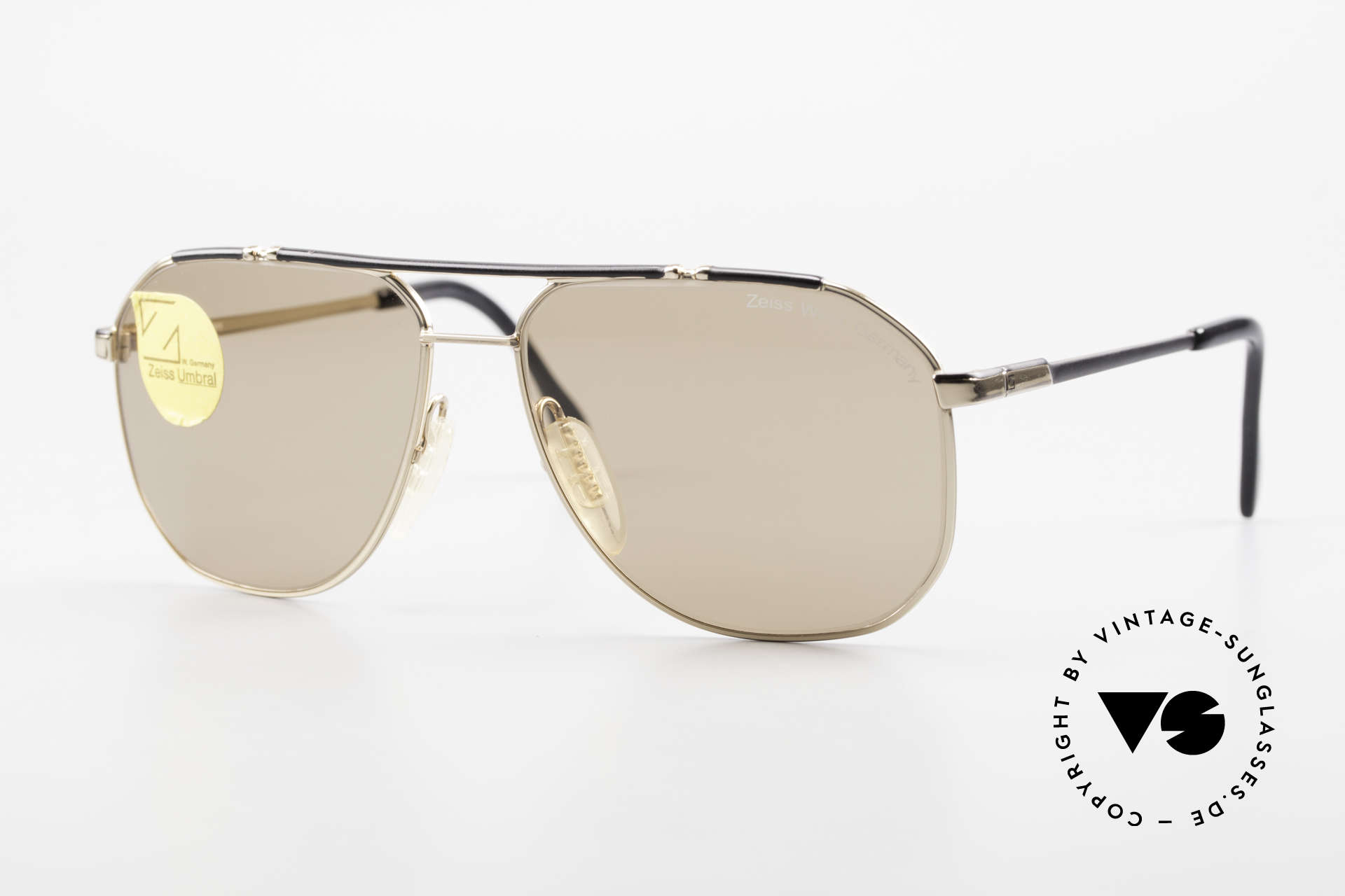 Zeiss 9288 80's Umbral Quality Sun Lenses, old ZEISS West Germany 1980's vintage sunglasses, Made for Men