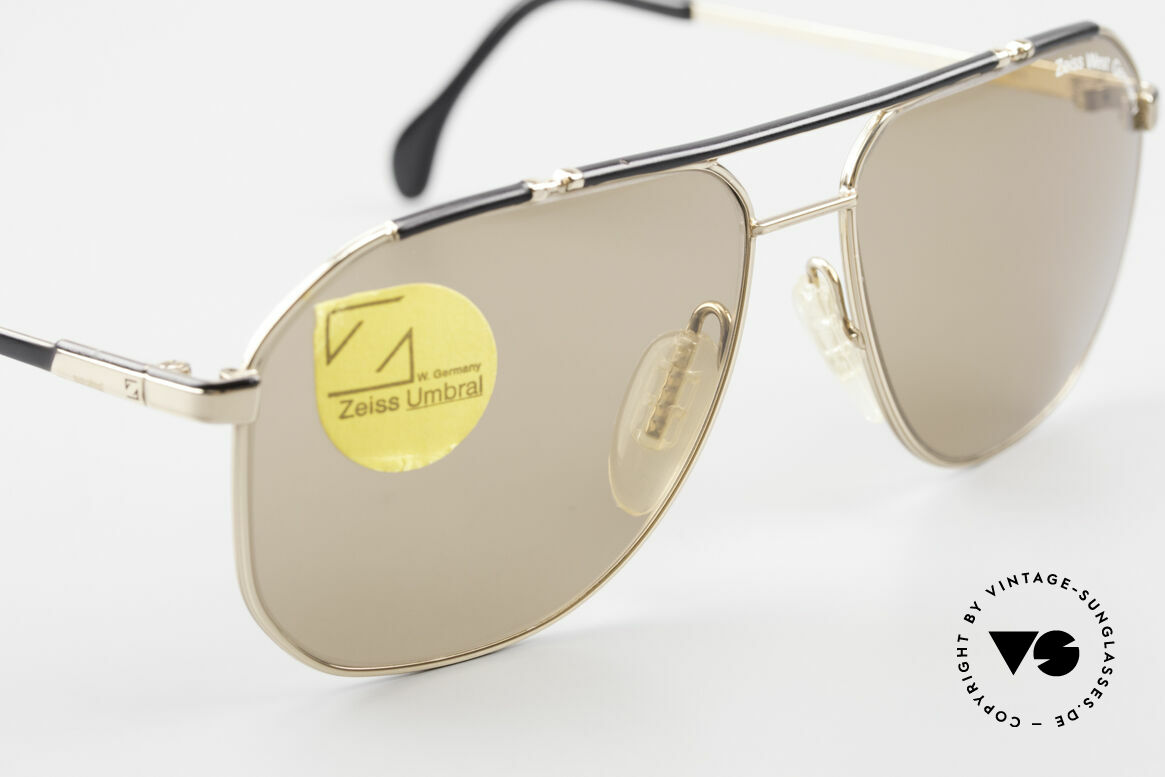 Zeiss 9288 80's Umbral Quality Sun Lenses, never worn (like all our vintage Zeiss sunglasses), Made for Men