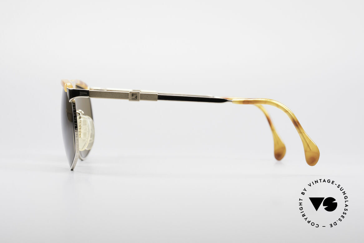 Zeiss 9926 Interchangeable Temples, Zeiss COMEPTITION series with flexible spring hinges, Made for Men