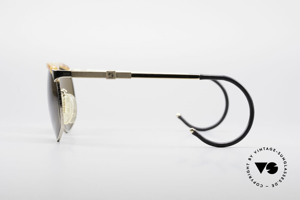 Zeiss 9926 Interchangeable Temples, high-end mineral lenses (scratch-resistant & 100% UV), Made for Men