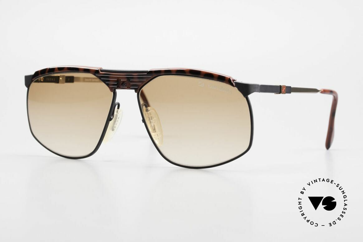 Zeiss 9926 Interchangeable Temples 80's, all-time quality 80's frame with great functionality, Made for Men