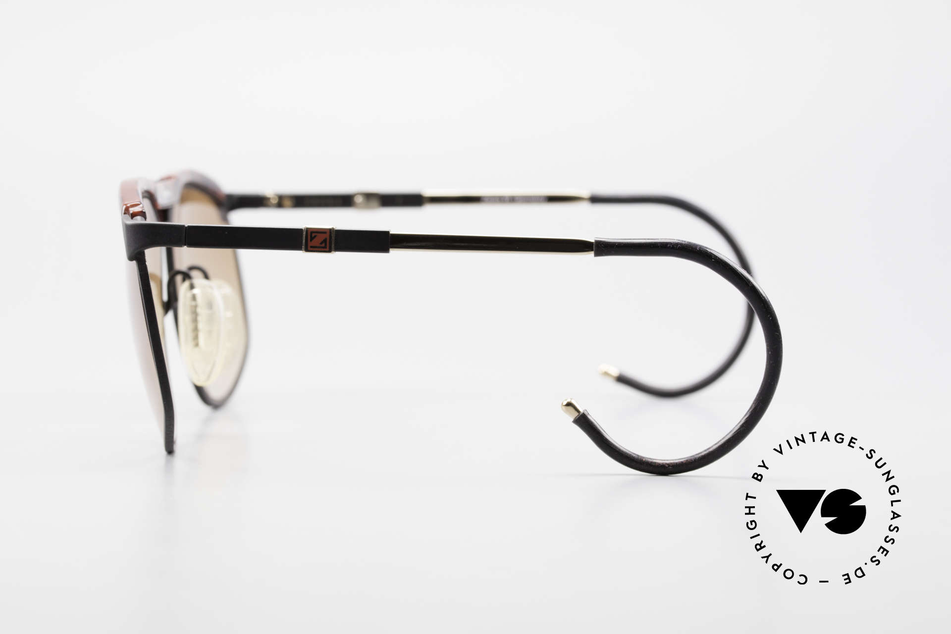 Zeiss 9926 Interchangeable Temples 80's, Size: medium, Made for Men