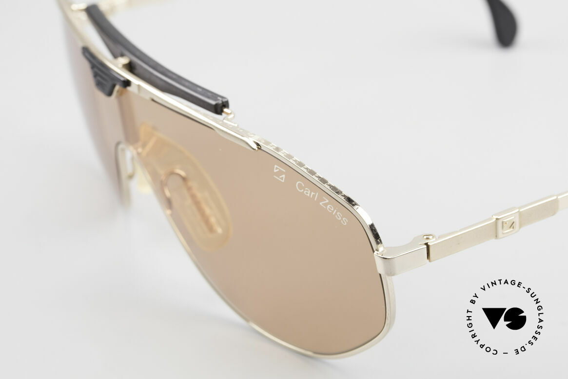 Zeiss 9937 Rare Panorama 90's Shades, spring hinges and saddle bridge (1. class comfort), Made for Men